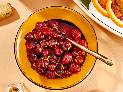 Whole-Berry Cranberry Sauce from Joy of Cooking