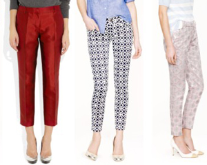 Cute cropped pants for summer wardrobe