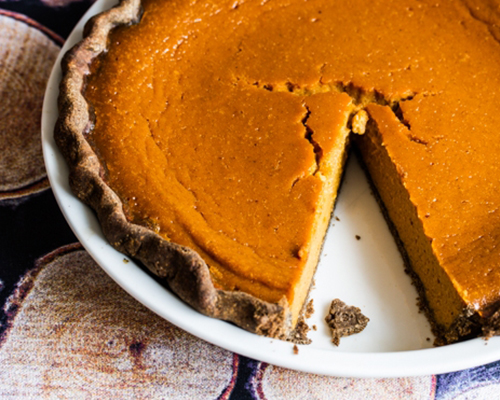 Joy of Cooking Pumpkin Pie recipe