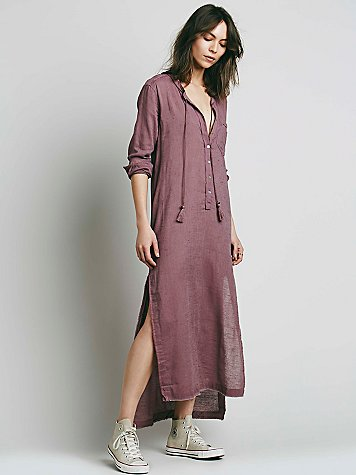 Free People Shirt Dress $98