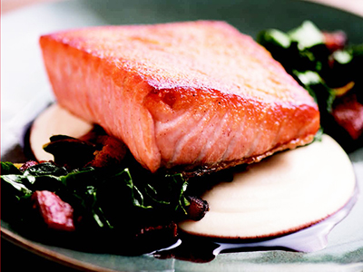 Wild Salmon, Cooking Like a Master Chef