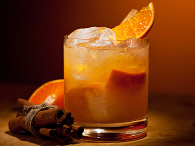 tangerine cocktail, fall party planning, Awesome Autumn Feasts