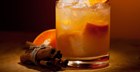 tangerine cocktail, fall party planning, Aewsome Autumn Feasts