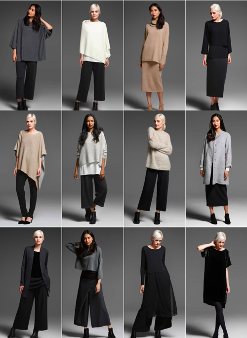 Eileen Fisher Fall/Winter 2016