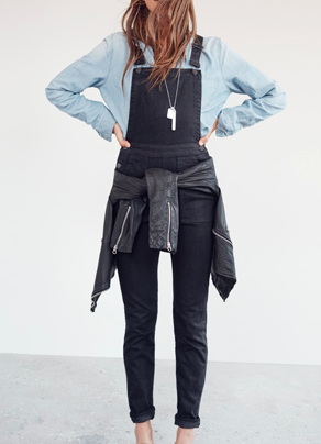 Madewell Denim Cross-Back Overalls $148