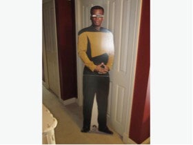 best holiday gifts for geeks, Star Trek cutout, Kristi Charish