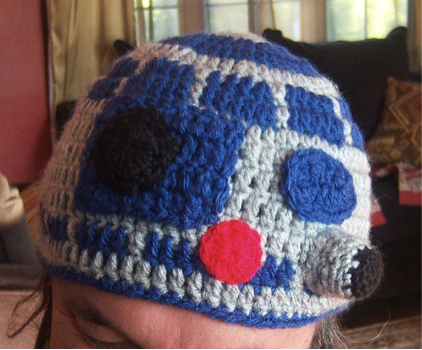 best holiday gifts for geeks, Star Wars merchandise, r2d2 cap, Kristi Charish