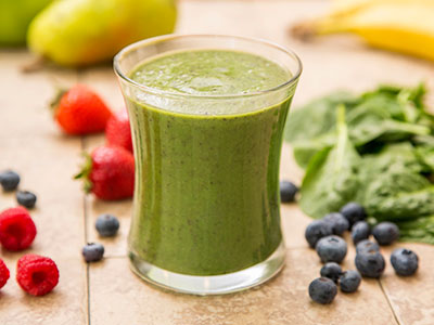 green smoothie, apple berry smoothie, JJ Smith, 10-Day Smoothie Cleanse, Lose Weight Without Dieting or Working Out