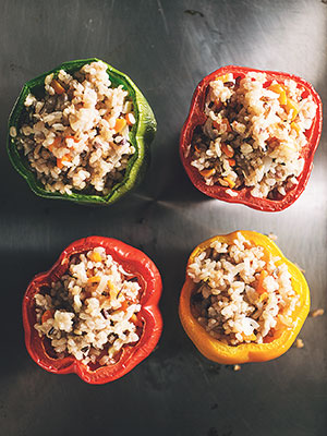Stash Plan Recipe, Stuffed Peppers, Laura Prepon, Elizabeth Troy
