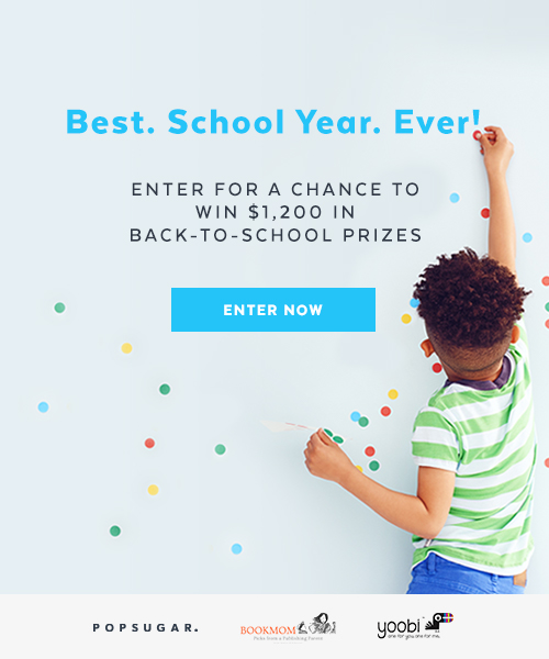 PopSugar Moms back to school sweepstakes