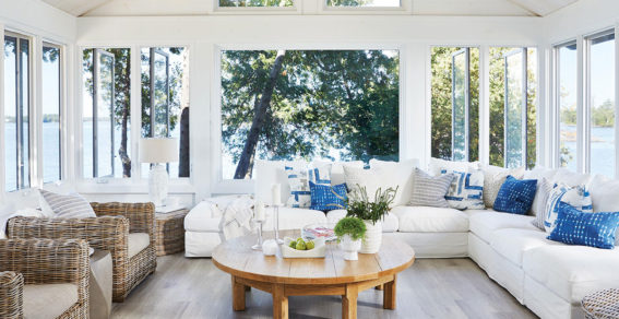 Sun porch style from Sarah Richardson's Collected