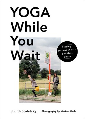 Yoga While You Wait book cover